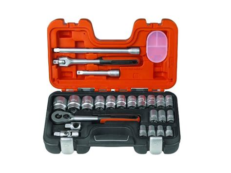 Facom Socket Set Sq 3 8in J 430mu facom fcmstmj9 stm j9 socket set hex bit 9 1 2in drive
