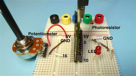photoresistor potentiometer photoresistor ground 28 images photoresistor input pic16f877a robotic project source code