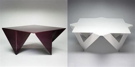 Creative Ideas For Home Interior manifold one metal sheet of table freshome com