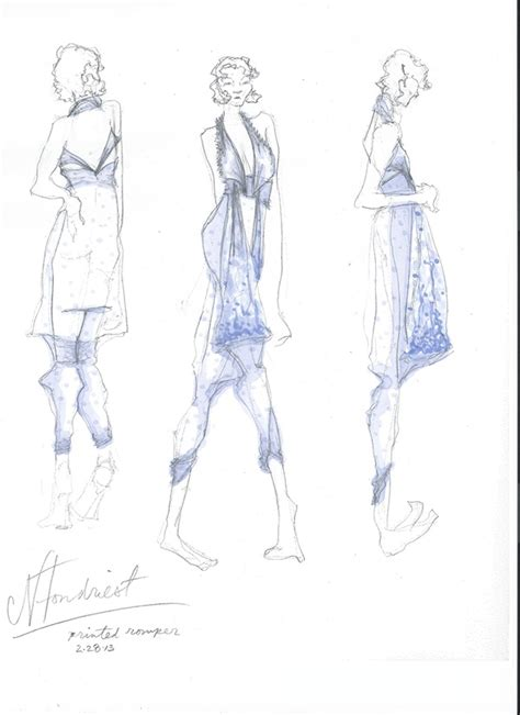 draping sketches draping prints development sketches on risd portfolios