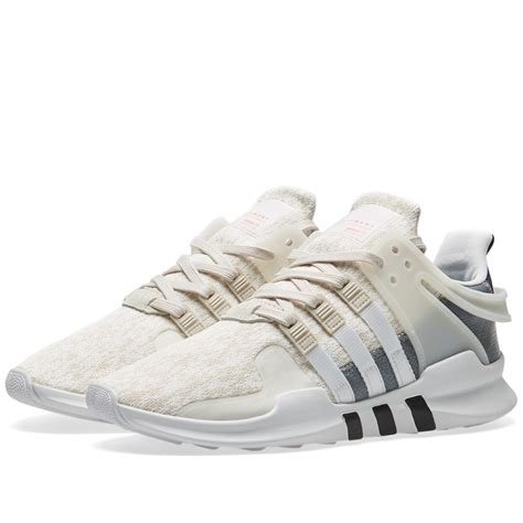 adidas eqt the adidas eqt support adv in clear brown and white is