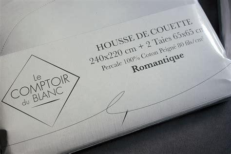Le Comptoir Du Blanc by J Ai Test 233 Pour Vous Le Linge De Lit Blanc Avec La