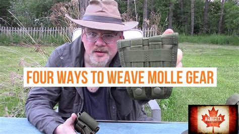 how to make molle gear 4 ways to weave molle gear