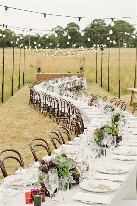 rustic backyard wedding reception ideas rustic wedding table decoration ideas rustic