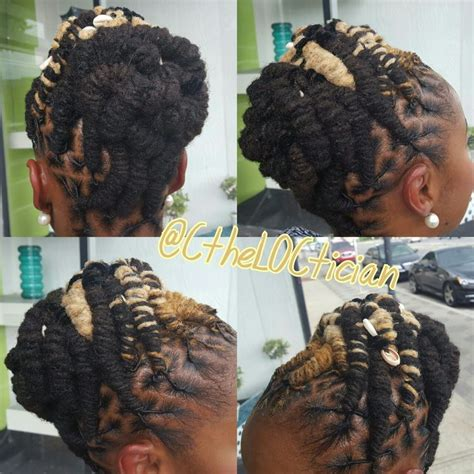 Wedding Hairstyles With Dreadlocks by 17 Best Images About Locs Of On Black