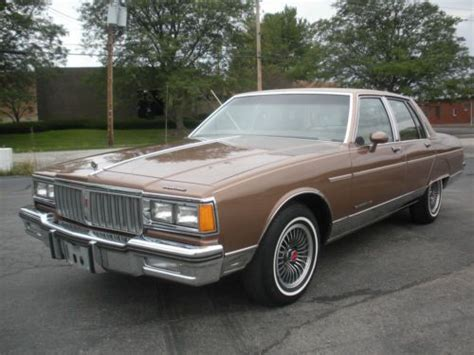 automotive air conditioning repair 1986 pontiac bonneville transmission control buy used 27 000 mile pontiac parisienne brougham all original garage find in youngstown ohio