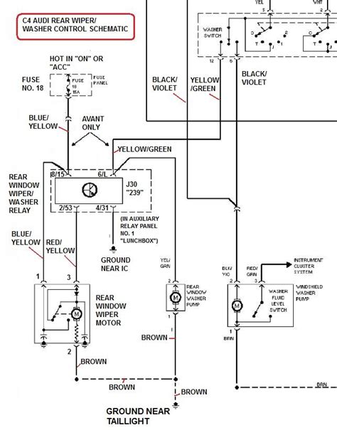 rear wiper motor wiring diagram wallpaperzenorg