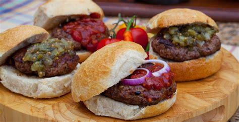Handmade Burger Recipe - family barbeque 1 adanih