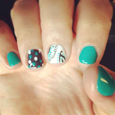 teal gel nail designs nails shellac gelish gel nails nails art paisley teal grey