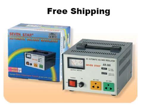Stabilizer Matsunaga 500 Watt 500w Stavol seven ar500 500 w watt voltage stabilizer regulator 500w step up converter transformer