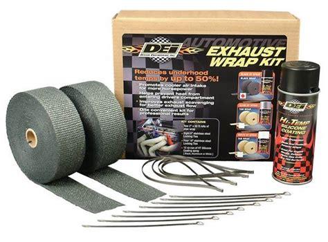design engineering header wrap honda black spark plug cover and hardware package hon