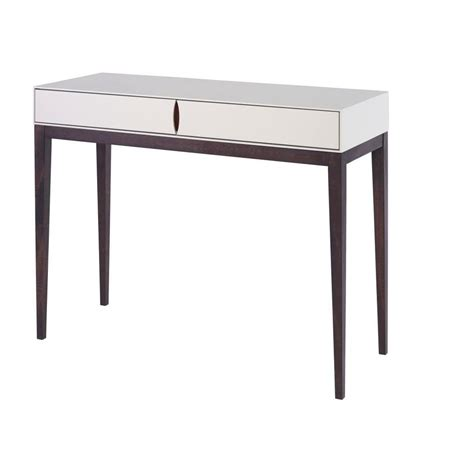 Ivory Console Table Buy Luxurious Ivory White Slim Console Table From Fusion Living