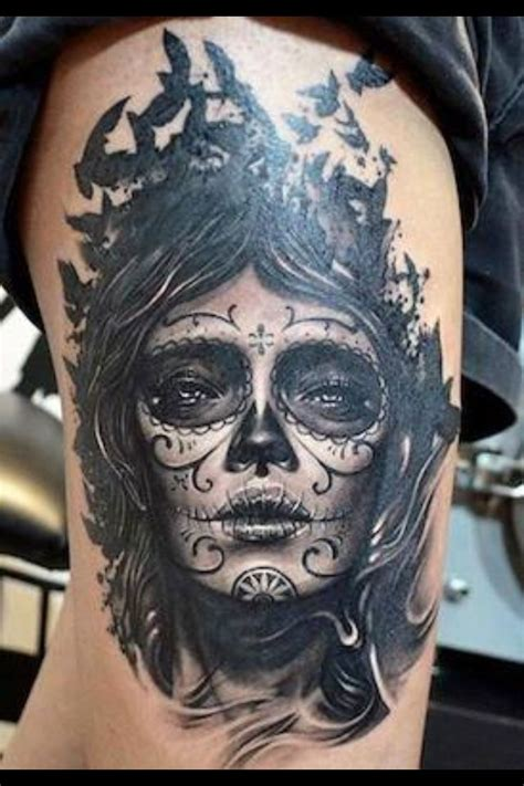 dia de muertos tattoo 38 mexican tattoos