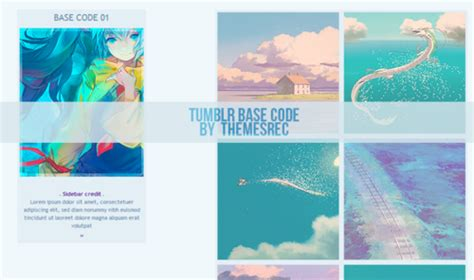themes tumblr free html codes district 3