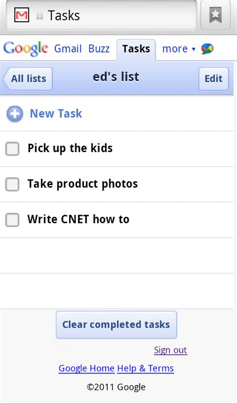 tasks android how to access tasks on android phones cnet
