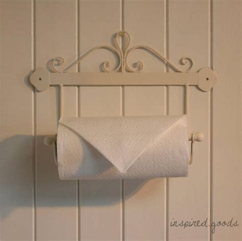 french style wall mounted kitchen roll holder shabby chic