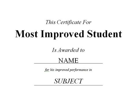 babysitting award certificate success certificates