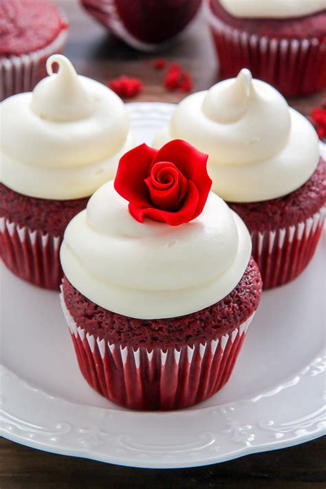 New Home Decorating by One Bowl Red Velvet Cupcakes Baker By Nature