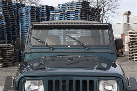 jeep yj light bar jeep light bar mount jeep free engine image for