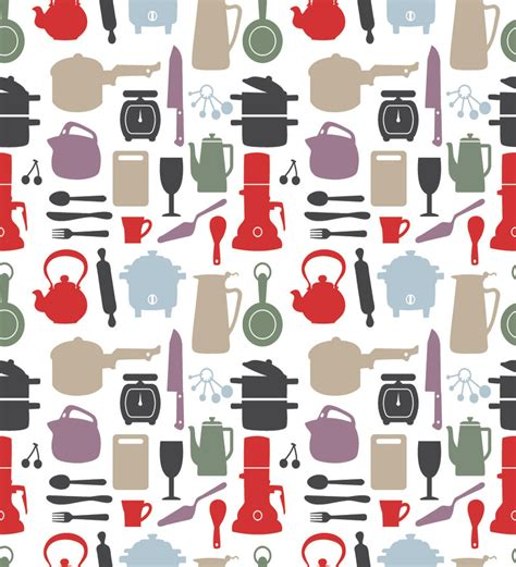 Print a Wall Paper Kitchen Equipments PVC Free Wallpaper by Print A Wallpaper Online   Abstract