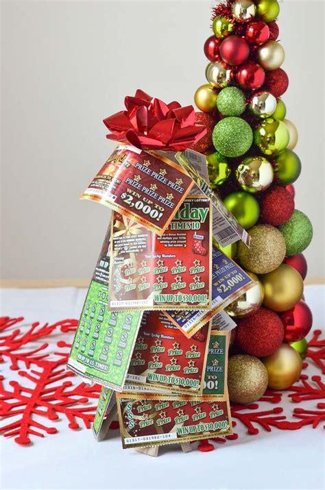nj lottery tickets christmas tree gift idea courtney s