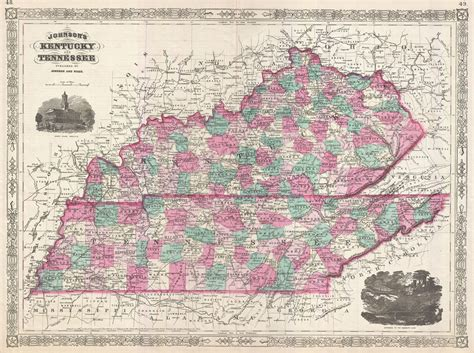 map of kentucky and tennessee file 1866 johnson map of kentucky and tennessee