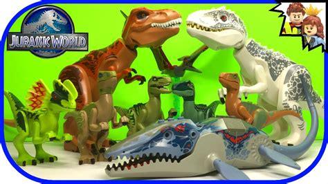 Lele Dinosaur World Jurassic World lego jurassic world collection favorite dinosaurs size