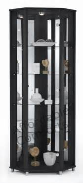 Black Display Cabinets Uk Black Glass Cabinet Bukit