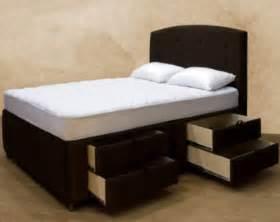 Tall upholstered bed frame bed amp bath