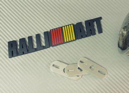 Emblem Ralliart Plat ralliart mitsubishi emblem badge emblem metro manila philippines turb191