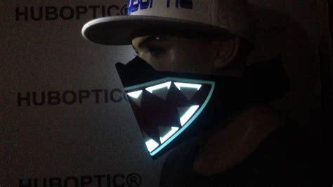 light up rave accessories new raptor prj7 mask rave mask monster edm light up dj