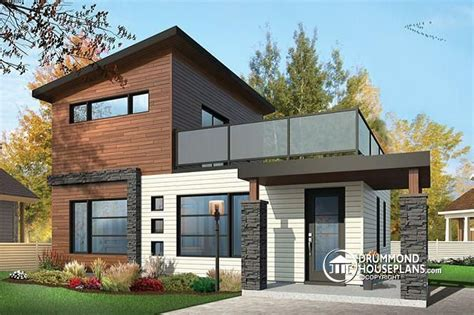 modern home design 100k house plan w1703 detail from drummondhouseplans