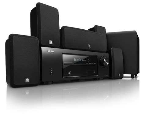 new denon 194 174 5 1 channel home theater system dht 1513ba