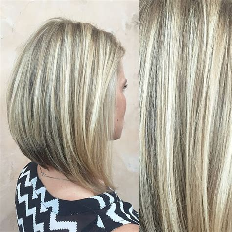 medium hairstyles with partial highlights brown hair with partial blonde highlights hairs picture