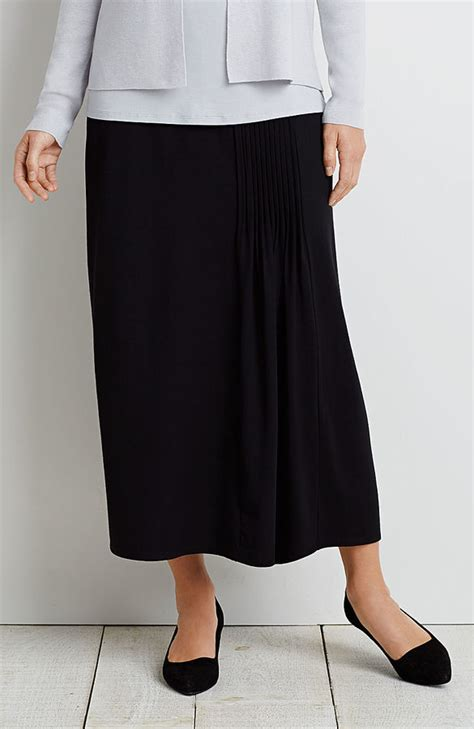 long pleated skirt shopstyle j jill wearever pleated long skirt shopstyle