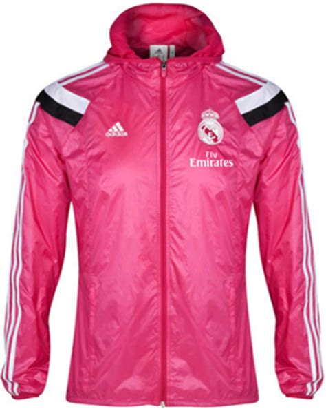 jaket anthem real madrid black big match jersey toko anthem jacket real madrid pink 2014 2015 waterproof