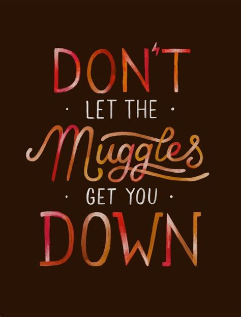 Don T Let The Muggles by Don T Let The Muggles Get You Print Harry
