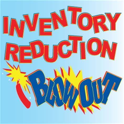 inventory reduction sale in a box kit giantpromotions