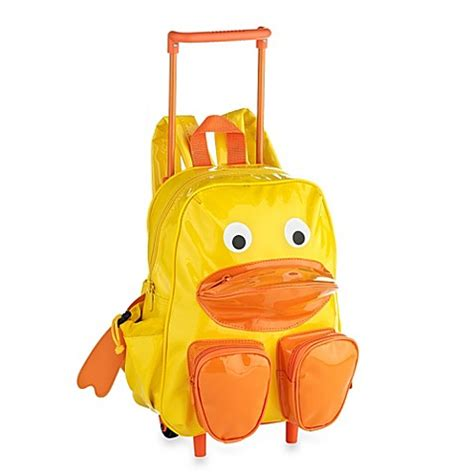 pull along duck trolley and backpack buybuy baby