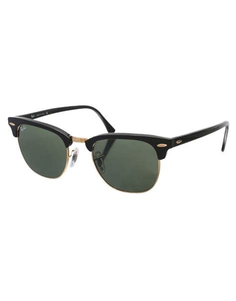 Designer Ipad Case by Ray Ban Clubmaster Sunglasses 0rb3016 W0365 49 Black In