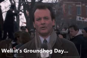 groundhog day bill murray quotes bill murray gif on