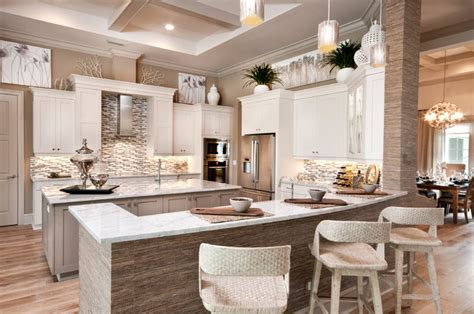 Decorations For Above Kitchen Cabinets by La Salle Model In Twin Eagles Naples Fl