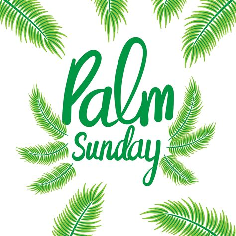 palm sunday background download free vector art stock