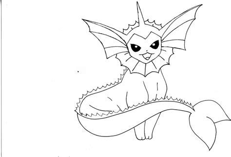 pokemon coloring pages vaporeon pokemon vaporeon coloring pages coloring pages