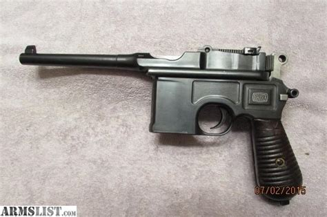 libro the broomhandle mauser weapon armslist for sale mauser 1896 broomhandle pistol nice matching 7 63