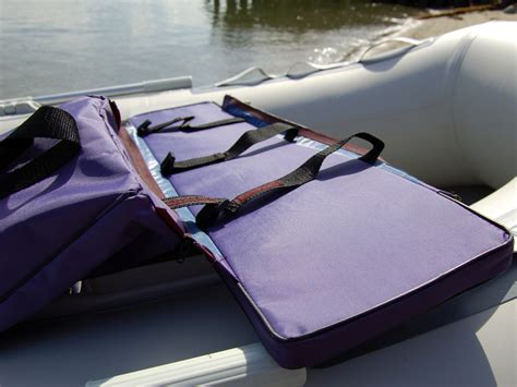 boat bench seat with storage underseat storage bag for inflatable boat bench seat