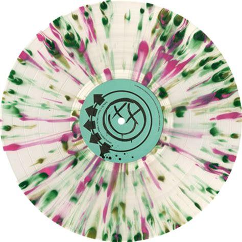 blink 182 vinyl lp blink 182 blink 182 colored vinyl