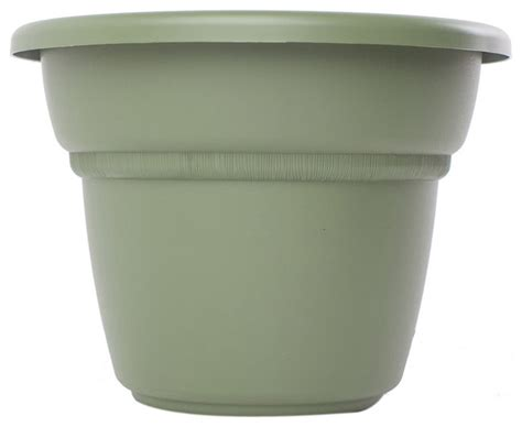 Modern Planter Pots by Bloem 24 Quot Planter Living Green 6 Pack Modern