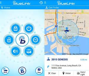 hyundai blue link car monitoring app for android wear