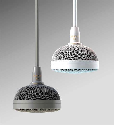 Ceiling Microphone by Audix M3 Tri Element Ceiling Microphone W Plenum Box 4